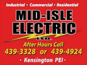 MID ISLE ELECTRIC Logo