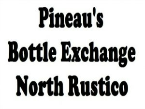 Pineau's Bottle Exchange Logo