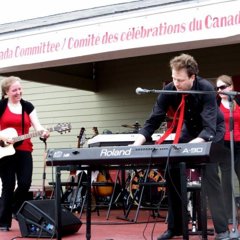 Ross Band performing on Canada Day
