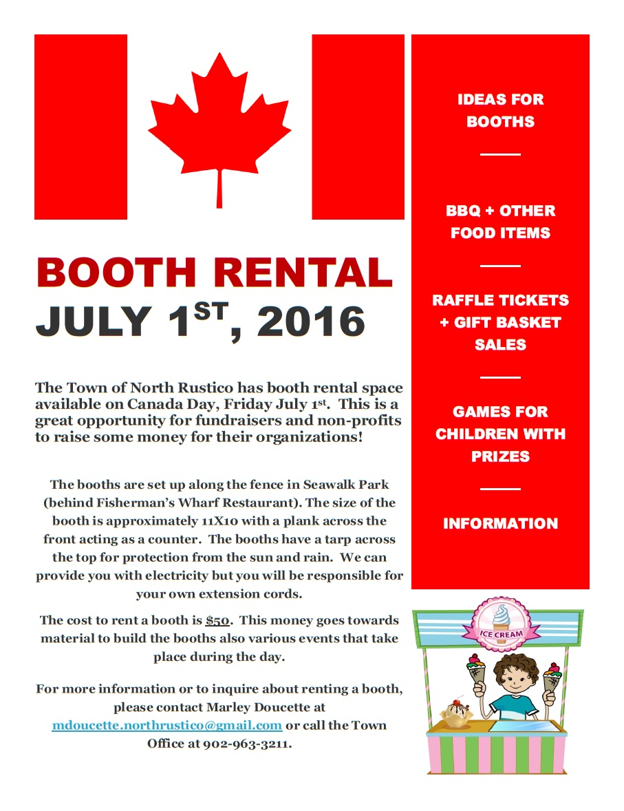 Booth Rental Poster