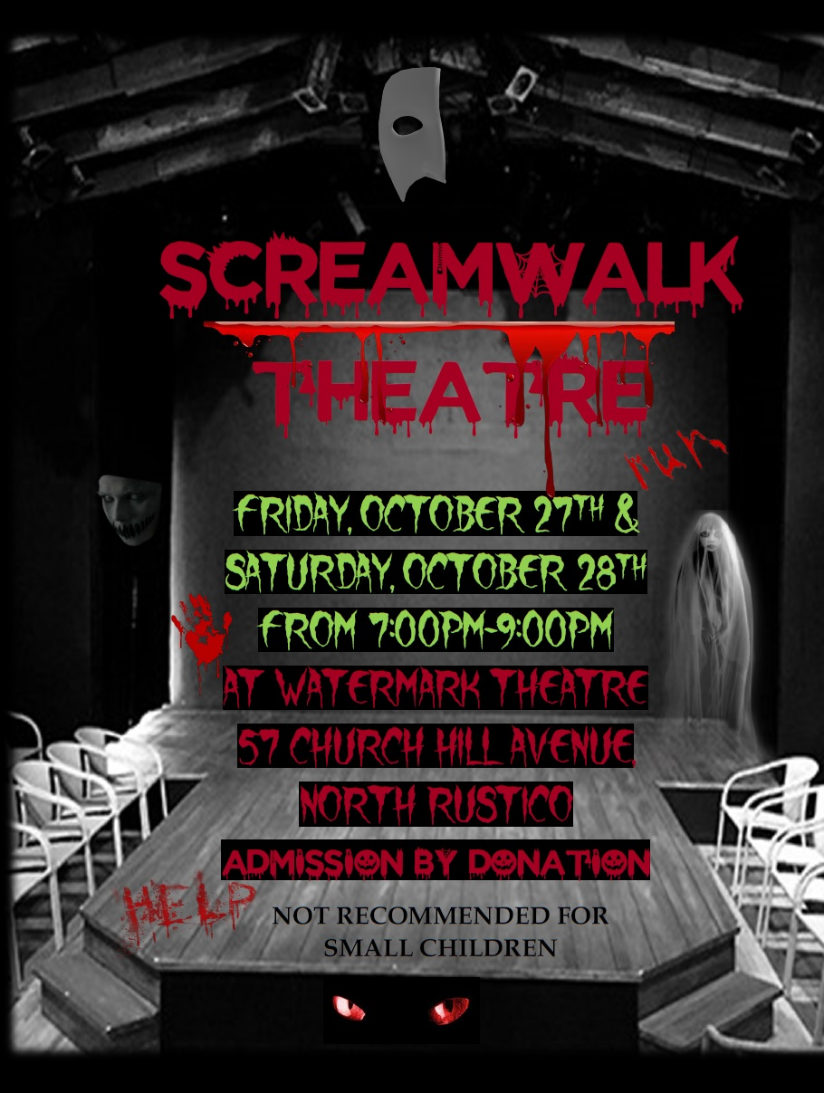 ScreamWalk Theatre @ Watermark Theatre | North Rustico | Prince Edward Island | Canada
