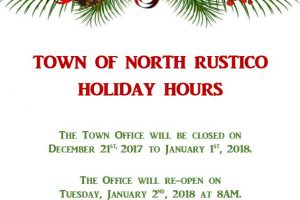 Town Office Holiday Hours