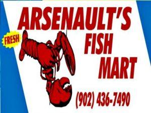 Arsenault's Fish Mart Logo