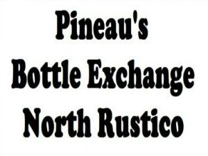 Pineau's Bottle Exchange Logo